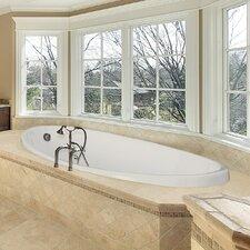 """Designer Carli 60"""" x 36"""" Whirlpool Bathtub"""