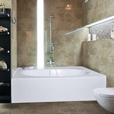 "Builder Kona 60"" x 42"" Air/Whirlpool Bathtub"