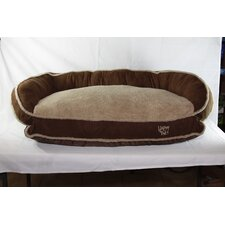 Luxurious Microsuede Dog Bolster