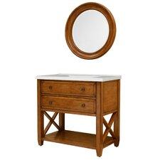 "Casual Essence 36"" Bathroom Vanity Set with Mirror"