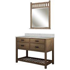 """Toby 49"""" Single Bathroom Vanity Set"""
