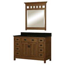 """American Craftsman 48"""" Single Bathroom Vanity Set"""