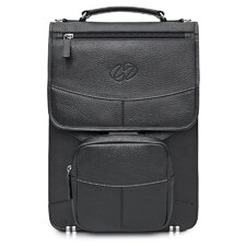 Premium Leather Laptop Flight Case