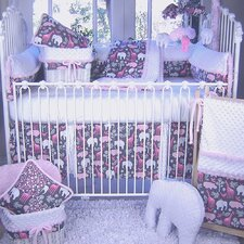 Animal Cookies 4 Piece Crib Bedding Set