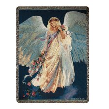 Messenger of Love Tapestry Cotton Throw