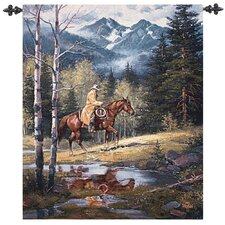 Springtime in the Rockies Tapestry