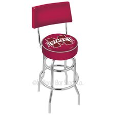 "NCAA 30"" Swivel Bar Stool with Cushion"