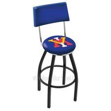"NCAA 25"" Swivel Bar Stool with Cushion"