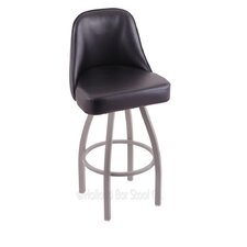 "Grizzly 25"" Swivel Bar Stool with Cushion"