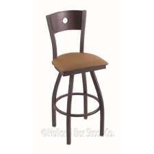 "Voltaire 30"" Swivel Bar Stool with Cushion"