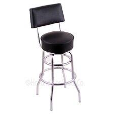 "Classic Series 30"" Swivel Bar Stool with Cushion"
