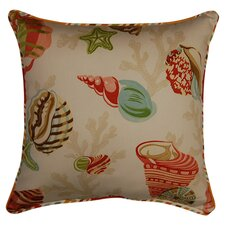 Coral Bay Cord Shell Cotton Throw Pillow (Set of 2)