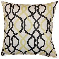 Make Waves Cotton Throw Pillow