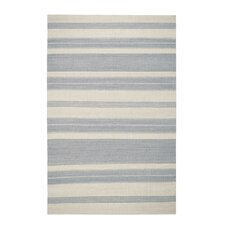 Jagges Gray/Beige Stripe Oslo Outdoor Area Rug