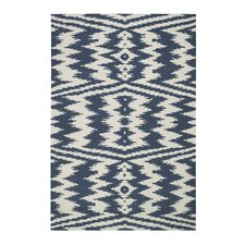 Junction Bokrum Blue Outdoor Area Rug
