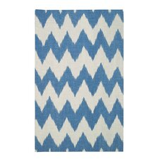 Insignia Grecian Blue/Cream Area Rug