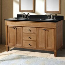 "61"" Double Bathroom Vanity Set"