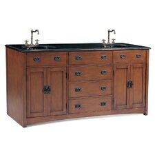 """Ithaca 72"""" Double Chest Bathroom Vanity Set"""