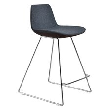 "Alyssa 23"" Bar Stool with Cushion (Set of 2)"