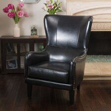 Patrick High Back Wingback Chair