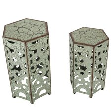 2 Piece Ponce Accent Table
