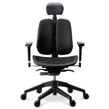 Alpha 60H High-Back Executive Mesh Office Chair with Armrests