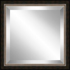 Square  Antique Framed Bevel Plate Glass Mirror