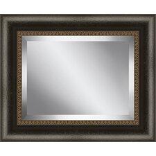 Framed Beveled Plate Glass Mirror