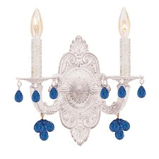Abbie 2 Light Candle Wall Sconce