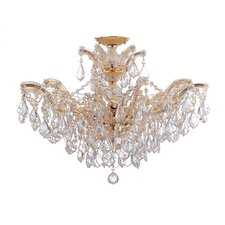 Maria Theresa 6 Light Semi Flush Mount