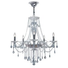 Simone 5 Light Crystal Chandelier
