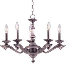 Cortland 5 Light Candle Chandelier