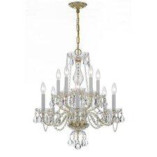 10 Light Crystal Chandelier V