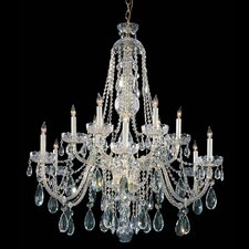 12 Light Crystal Chandelier III