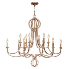 Garland 12 Light Crystal Chandelier