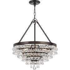 Calypso 6 Light Chandelier