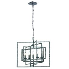 Capri 5 Light Candle Chandelier
