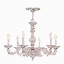 Sutton 6 Light Candle Chandelier