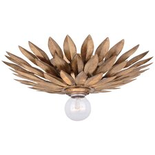 Broche 1 Light Flush Mount