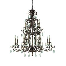 Englewood 12 Light Chandelier
