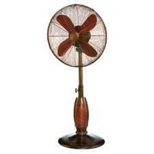 "Coppertino 18"" Oscillating Pedestal Fan"