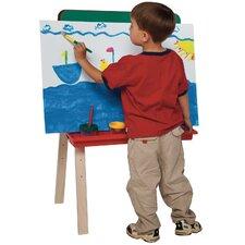 Tot Size Double Chalkboard Easel