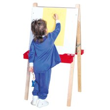 Double Adjustable Easel with Markerboard