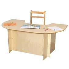 "52"" x 29.5"" Kidney Classroom Table"