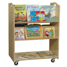 Mobile Library Book Cart
