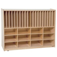 Healthy Kids Tip-Me-Not Portfolio 32 Compartment Cubby