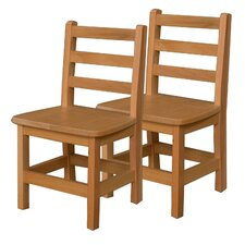 "13"" Wood Classroom Chair (Set of 2)"