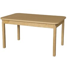 "48"" x 30"" Rectangular Classroom Table"
