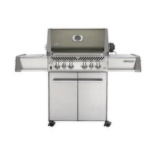 "28"" Prestige Gas Grill with Rear and Side Infrared Burners"