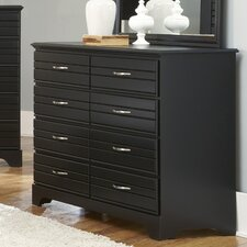 Platinum 8 Drawer Dresser
